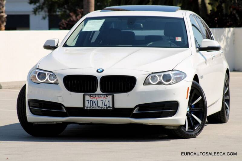 2014 BMW 5 Series for sale at Euro Auto Sales in Santa Clara CA
