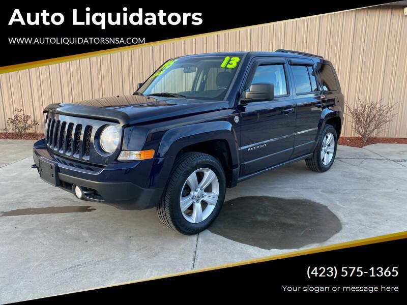 2013 Jeep Patriot for sale at Auto Liquidators in Bluff City TN