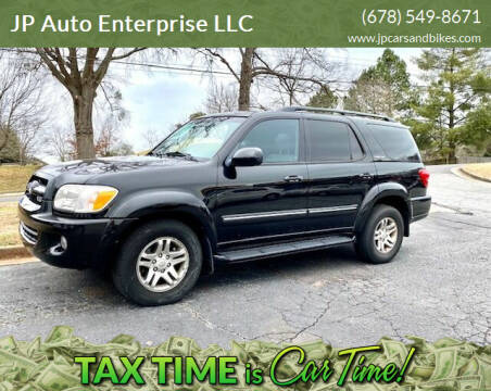 2005 Toyota Sequoia for sale at JP Auto Enterprise LLC in Duluth GA