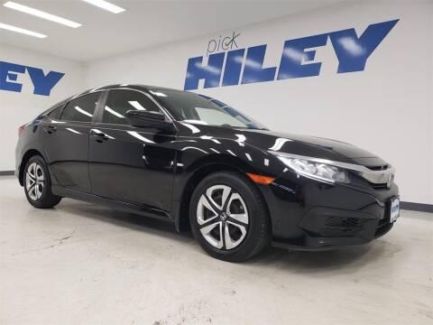 2018 Honda Civic for sale at HILEY MAZDA VOLKSWAGEN of ARLINGTON in Arlington TX