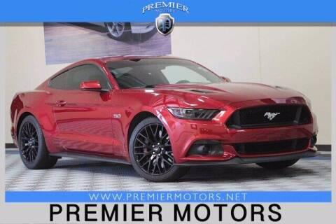 2017 Ford Mustang for sale at Premier Motors in Hayward CA