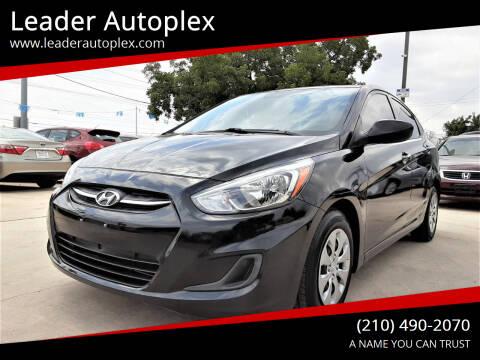 2017 Hyundai Accent for sale at Leader Autoplex in San Antonio TX