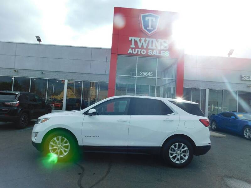 2020 Chevrolet Equinox for sale at Twins Auto Sales Inc Redford 1 in Redford MI