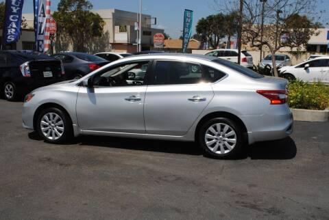 2016 Nissan Sentra for sale at MIKE AHWAZI in Santa Ana CA