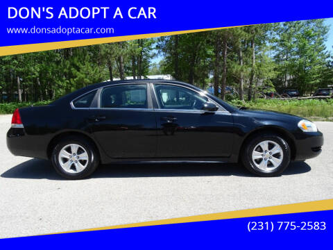 2013 Chevrolet Impala for sale at DON'S ADOPT A CAR in Cadillac MI