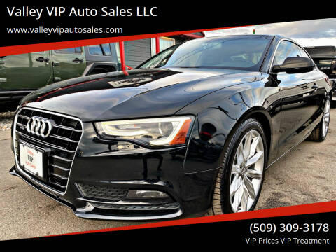 2013 Audi A5 for sale at Valley VIP Auto Sales LLC in Spokane Valley WA