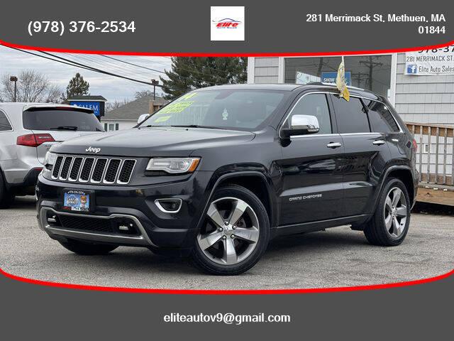 2014 Jeep Grand Cherokee for sale at ELITE AUTO SALES, INC in Methuen MA