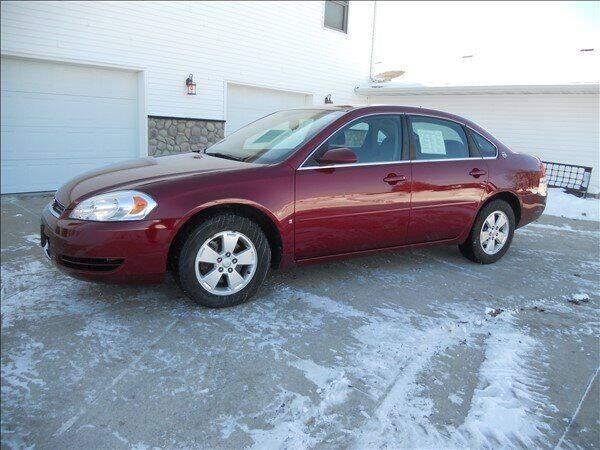 2008 Chevrolet Impala for sale at OLSON AUTO EXCHANGE LLC in Stoughton WI