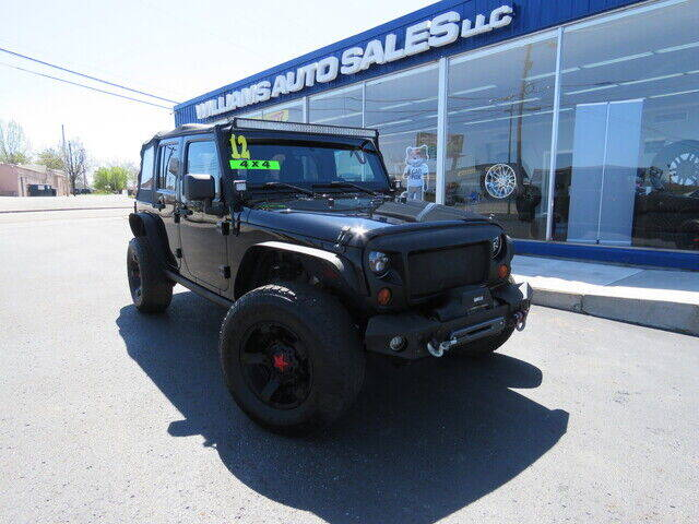 2012 Jeep Wrangler Unlimited for sale at Williams Auto Sales, LLC in Cookeville TN