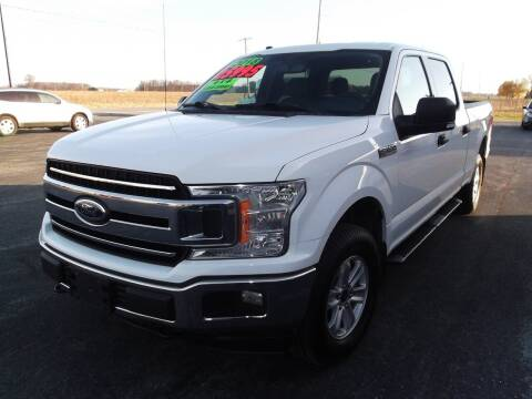 2018 Ford F-150 for sale at Dietsch Sales & Svc Inc in Edgerton OH