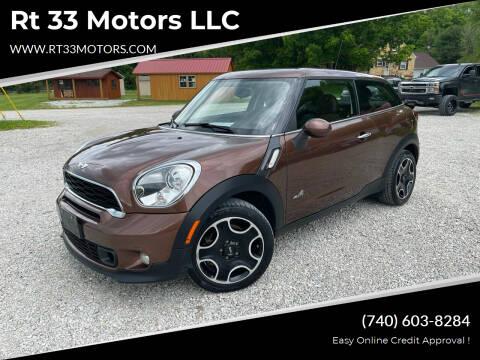 2014 MINI Paceman for sale at Rt 33 Motors LLC in Rockbridge OH