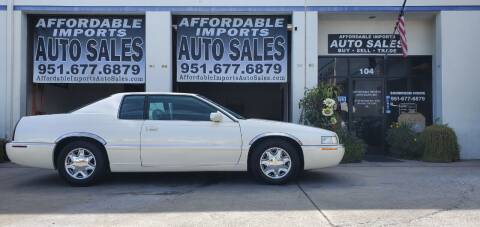 1999 Cadillac Eldorado for sale at Affordable Imports Auto Sales in Murrieta CA