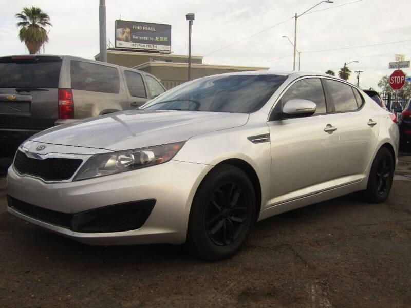 2011 Kia Optima for sale at Van Buren Motors in Phoenix AZ