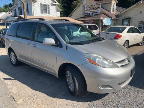 2009 Toyota Sienna for sale at Auto Town Used Cars in Morgantown WV