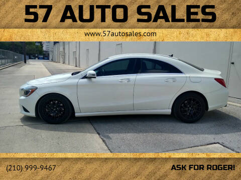 2016 Mercedes-Benz CLA for sale at 57 Auto Sales in San Antonio TX