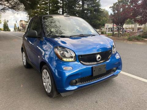 2016 Smart fortwo for sale at Brand Motors llc in Belmont CA