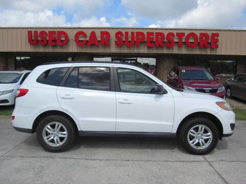 2011 Hyundai Santa Fe for sale at Checkered Flag Auto Sales NORTH in Lakeland FL