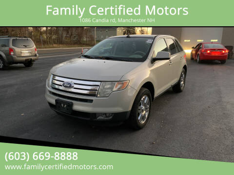 2007 Ford Edge for sale at Family Certified Motors in Manchester NH