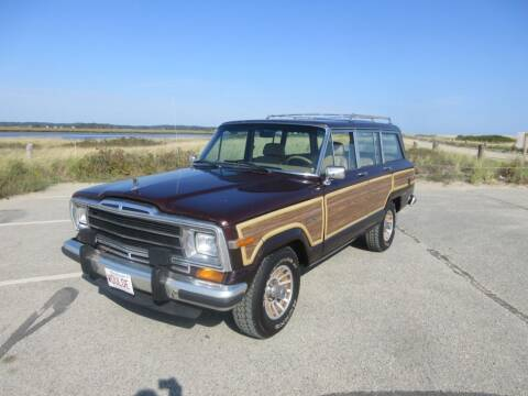 1988 Jeep Grand Wagoneer for sale at Millbrook Auto Sales in Duxbury MA