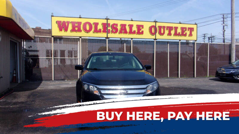2010 Ford Fusion for sale at LONG BROTHERS CAR COMPANY in Cleveland OH
