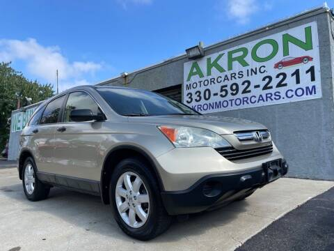2008 Honda CR-V for sale at Akron Motorcars Inc. in Akron OH