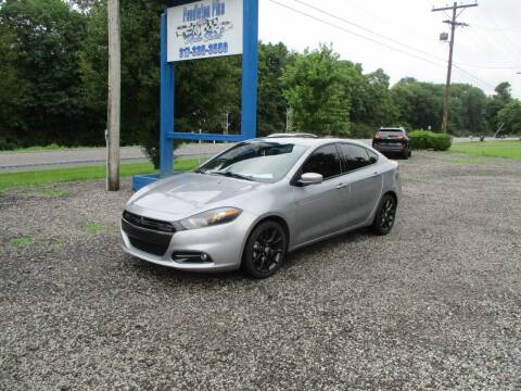 2014 Dodge Dart for sale at PENDLETON PIKE AUTO SALES in Ingalls IN
