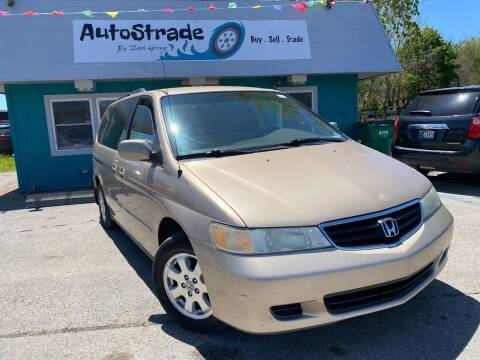 2002 Honda Odyssey for sale at Autostrade in Indianapolis IN