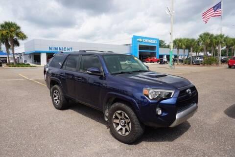 2017 Toyota 4Runner for sale at WinWithCraig.com in Jacksonville FL