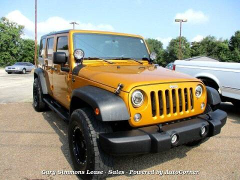 2014 Jeep Wrangler Unlimited for sale at Gary Simmons Lease - Sales in Mckenzie TN