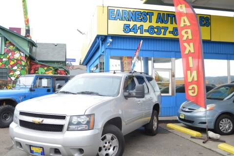 2011 Chevrolet Tahoe for sale at Earnest Auto Sales in Roseburg OR