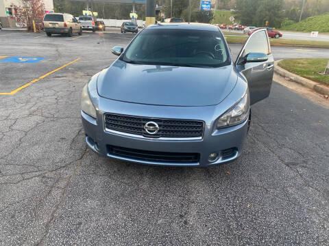 2011 Nissan Maxima for sale at BRAVA AUTO BROKERS LLC in Clarkston GA