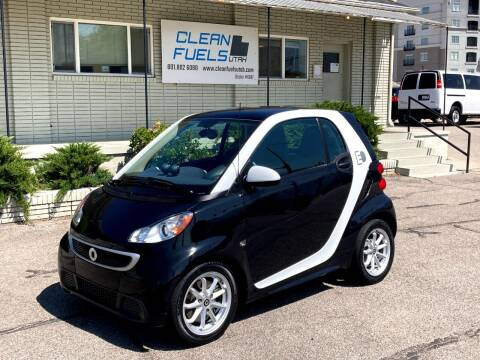 2014 Smart fortwo electric drive for sale at Clean Fuels Utah in Orem UT