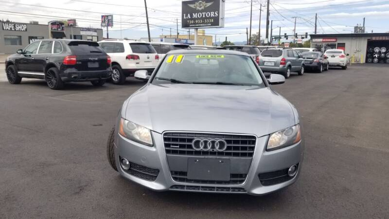 2011 Audi A5 AWD 2.0T quattro Premium 2dr Coupe 8A - Denver CO