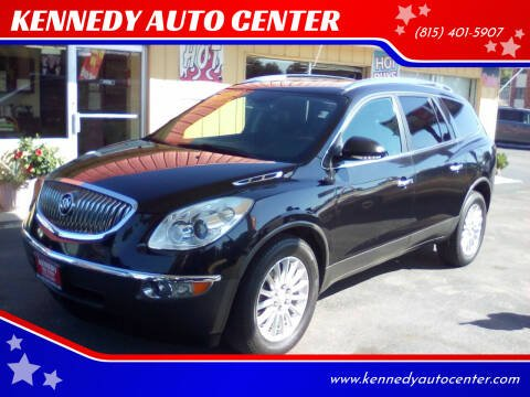 2012 Buick Enclave for sale at KENNEDY AUTO CENTER in Bradley IL