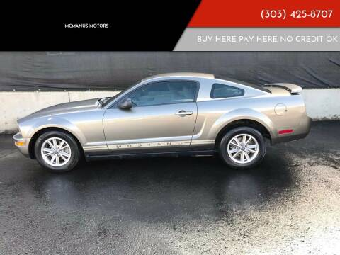 2005 Ford Mustang for sale at McManus Motors in Wheat Ridge CO