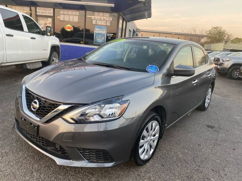 2019 Nissan Sentra for sale at Cow Boys Auto Sales LLC in Garland TX