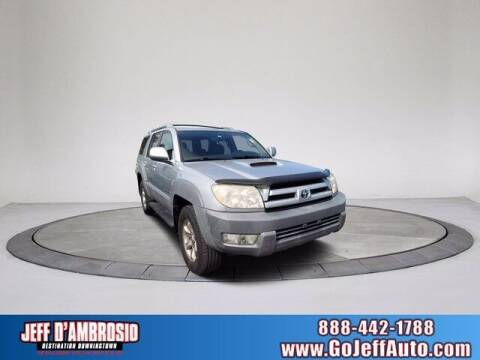 2003 Toyota 4Runner for sale at Jeff D'Ambrosio Auto Group in Downingtown PA