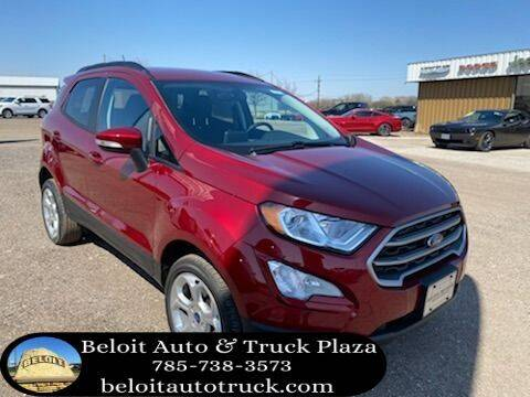 2021 Ford EcoSport for sale at BELOIT AUTO & TRUCK PLAZA INC in Beloit KS