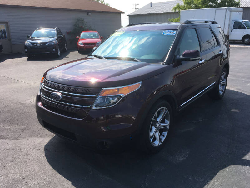 2011 Ford Explorer for sale at JACK'S AUTO SALES in Traverse City MI