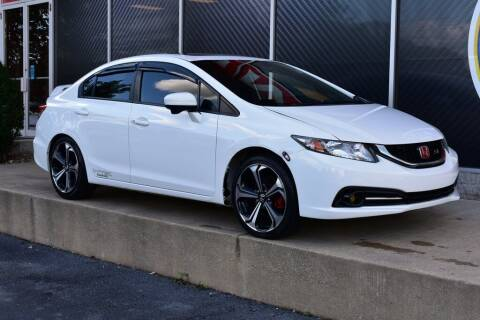 2015 Honda Civic for sale at Alfa Romeo & Fiat of Strongsville in Strongsville OH