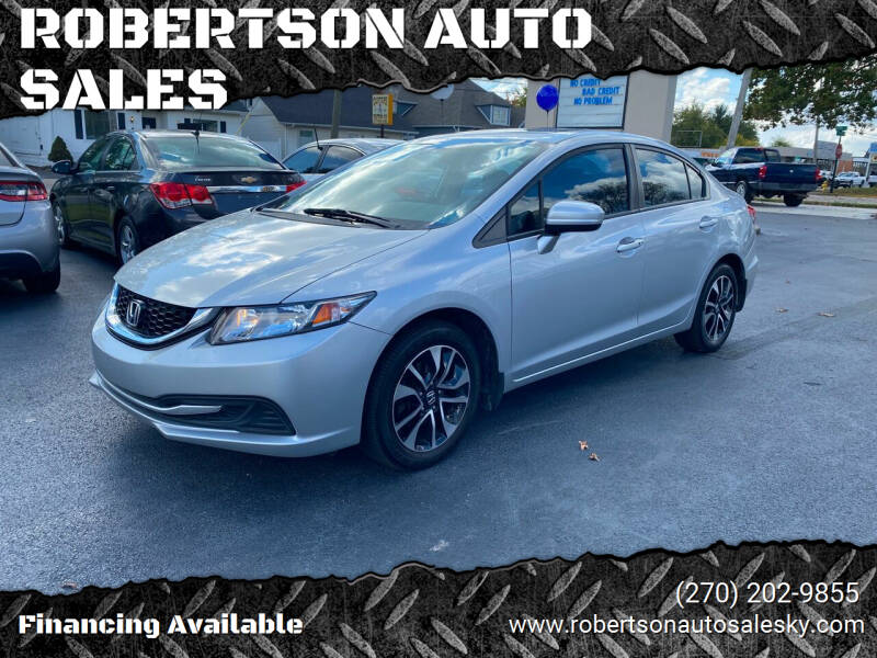 2014 Honda Civic for sale at ROBERTSON AUTO SALES in Bowling Green KY