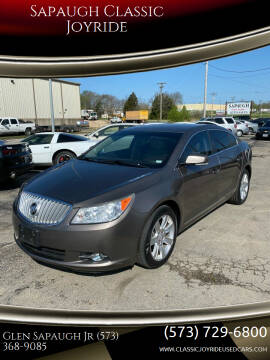 2012 Buick LaCrosse for sale at Sapaugh Classic Joyride in Salem MO