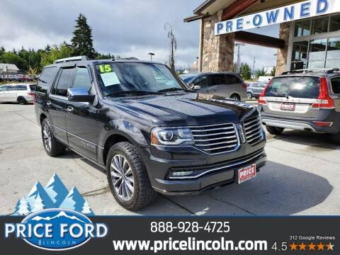 2015 Lincoln Navigator for sale at Price Ford Lincoln in Port Angeles WA