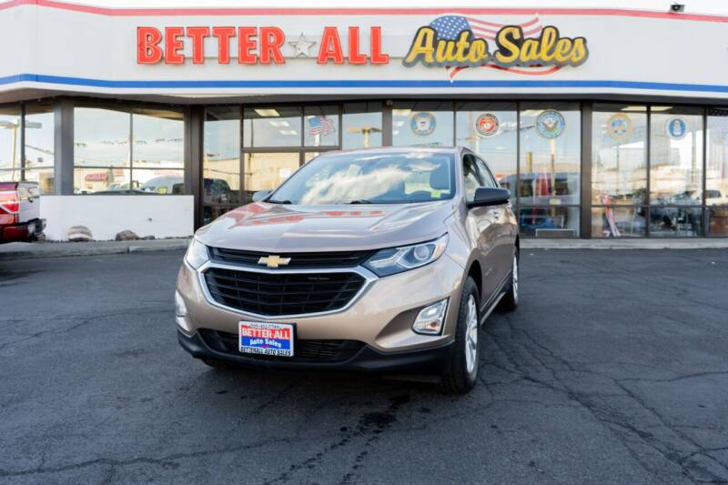 2018 Chevrolet Equinox for sale at Better All Auto Sales in Yakima WA
