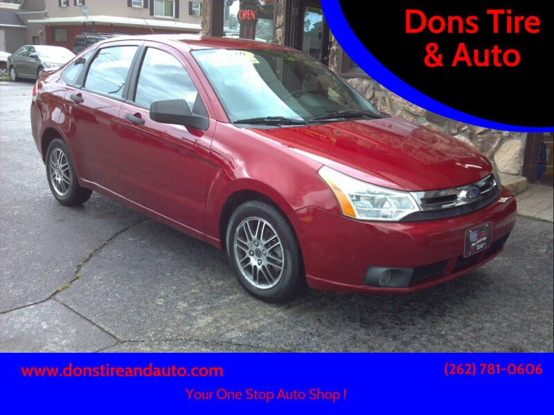 2010 Ford Focus for sale at Dons Tire & Auto in Butler WI