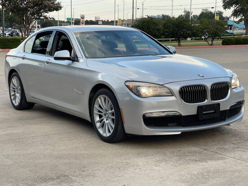 2012 BMW 7 Series for sale at AWESOME CARS LLC in Austin TX