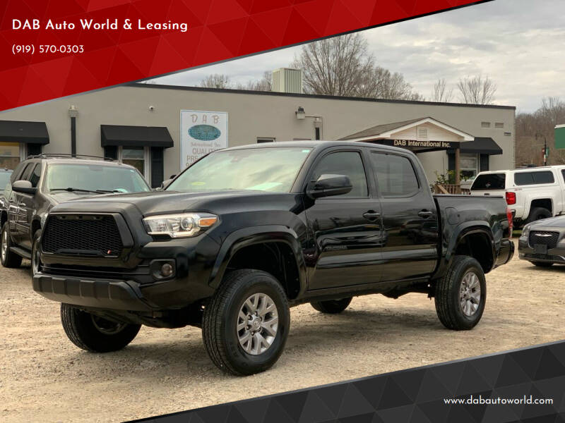2018 Toyota Tacoma for sale at DAB Auto World & Leasing in Wake Forest NC