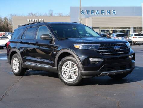 2021 Ford Explorer for sale at Stearns Ford in Burlington NC