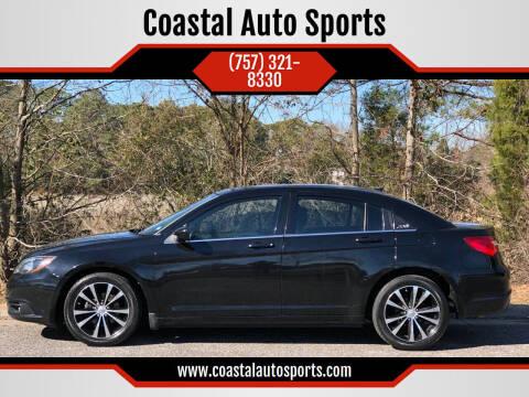 2012 Chrysler 200 for sale at Coastal Auto Sports in Chesapeake VA