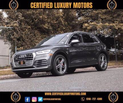 2018 Audi SQ5 for sale at Certified Luxury Motors in Great Neck NY